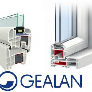 Plastikiniai langai Gealan