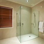 Stiklo duso kabina 150x150 Dušo kabinos