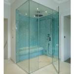 stiklo duso kabinos 150x150 Dušo kabinos